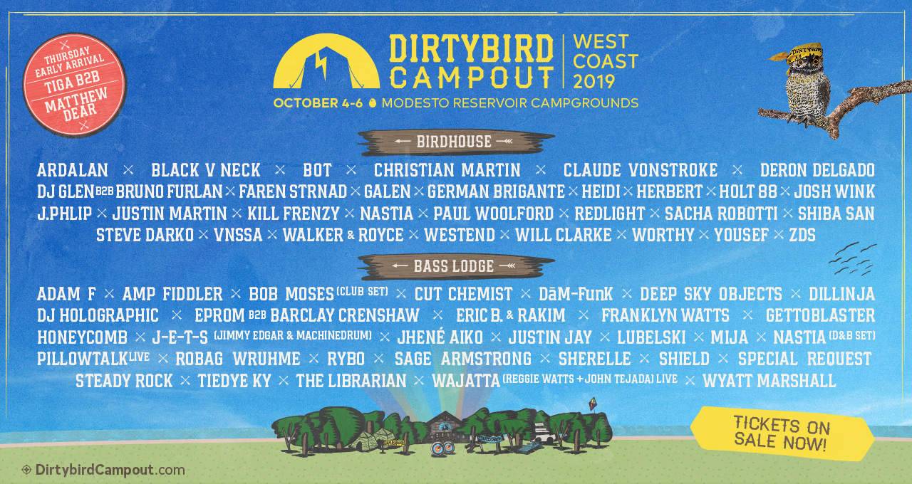 Dirtybird Campout West Coast 2019